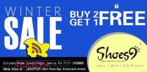 Winter Sale on Ladies Gents and Kids Footwear Shoes9