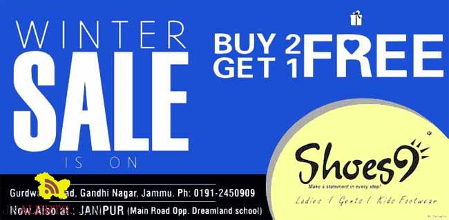 Winter Sale on Ladies Gents and Kids Footwear Shoes9