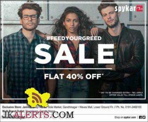 SPYKAR FLAT 40% OFF Wave Mall