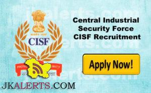 Central Industrial Security Force CISF Recruitment