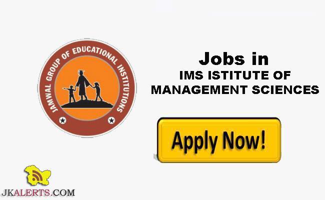 IMS INSTITUTE OF MANAGEMENT SCIENCES