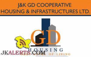 JOBS IN J&K GD COOPERATIVE HOUSING & INFRASTRUCTURES LTD.
