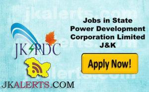 Jobs in State Power Development Corporation Limited J&K