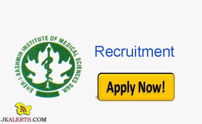 SKIMS Jobs Recruitment 2021 Complete details.