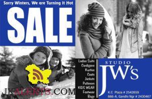 Winter Sale Studio JW's Gandhi Nagar