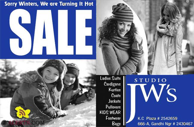 Winter Sale Studio JW's Gandhi Nagar