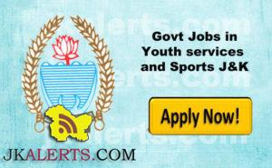 Govt Jobs in Youth services and Sports Department, Class-IV posts (Groundsman)