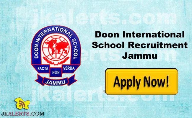 JOBS IN DOON INTERNATIONAL SCHOOL