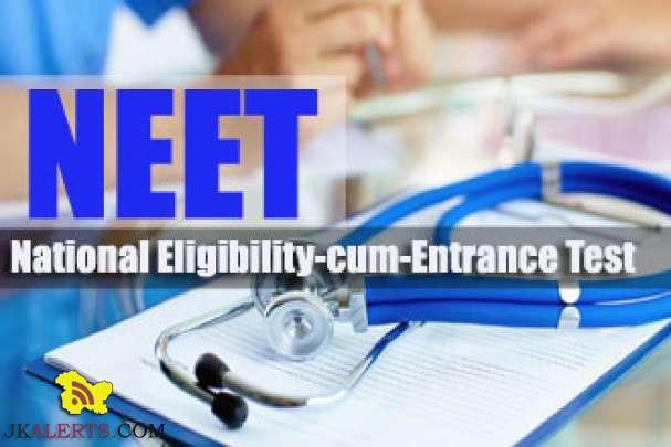 National Eligibility Cum Entrance Test NEET, 2017 update