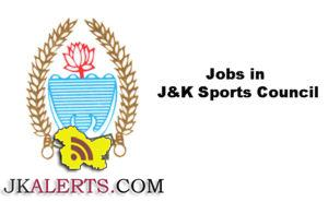 J&K State Sports Council lnterview schedule for various posts.