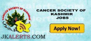 CANCER SOCIETY OF KASHMIR JOBS