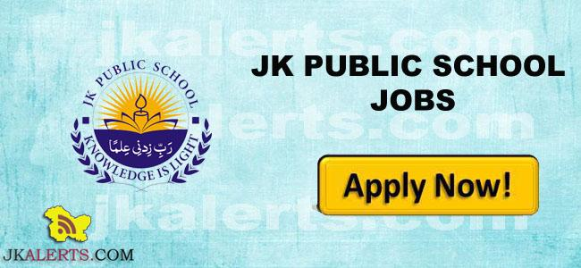 JK PUBLIC SCHOOL SRINAGAR JOBS