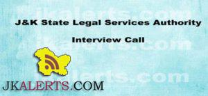 J&K State Legal Services Authority