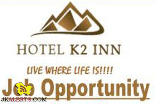 JOBS HOTEL K2 INN SRINAGAR