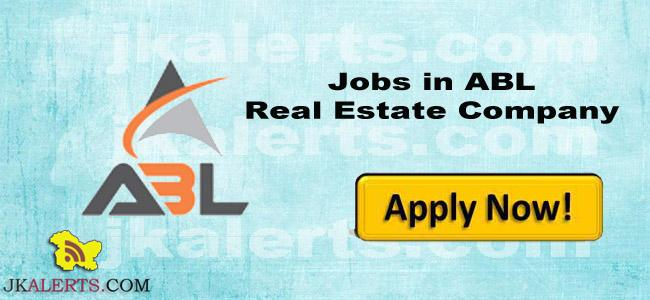 Jobs in ABL Real Estate Company