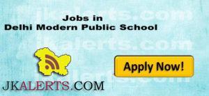 Jobs in Delhi Modern Public School