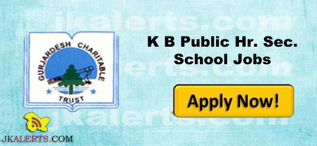 K B Public Hr Sec School Jobs