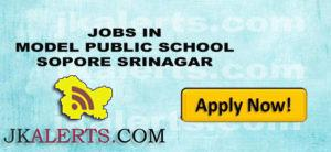 MODEL PUBLIC SCHOOL SOPORE SRINAGAR