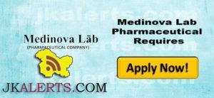 Medinova Lab Pharmaceutical Requires Computer operator, Accountant