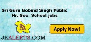 Jobs in Sri Guru Gobind Singh Public Hr. Sec. School