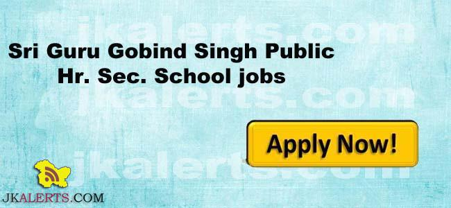 Jobs in Sri Guru Gobind Singh Public Hr. Sec. School
