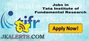 Tata Institute of Fundamental Research Jobs 2017