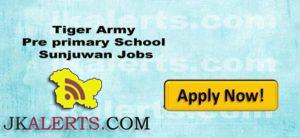 Tiger Army Pre primary School Sunjuwan