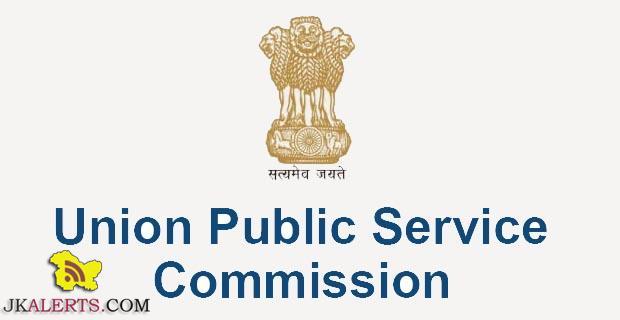 UPSC jobs 2021