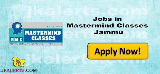 jobs-in-mastermind-classes-trikuta-nagar-jammu