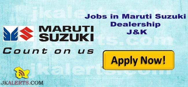 Jobs in Highland Automobiles Pvt Ltd Authorised Dealers of Maruti Suzuki J&K