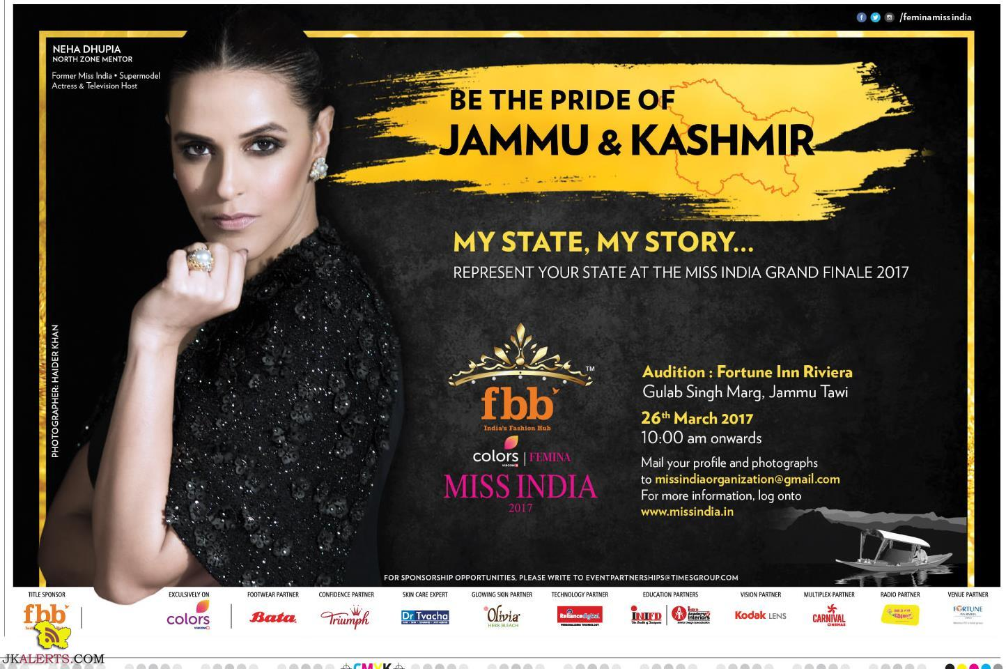 Miss India Audition in Jammu J&K