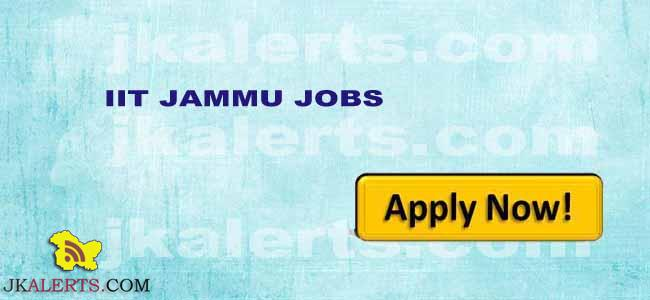 IIT JAMMU RECRUITMENT 2017