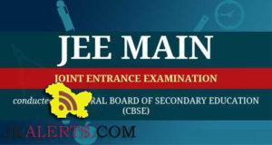 NTA, JEE Main, test ,Important Instructions.