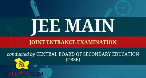 NTA, JEE Main, test ,Important Instructions.