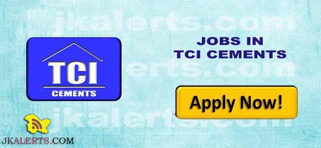JOBS TCI CEMENTS