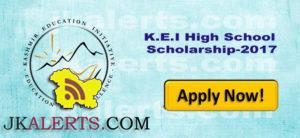 K.E.I High School Scholarship-2017