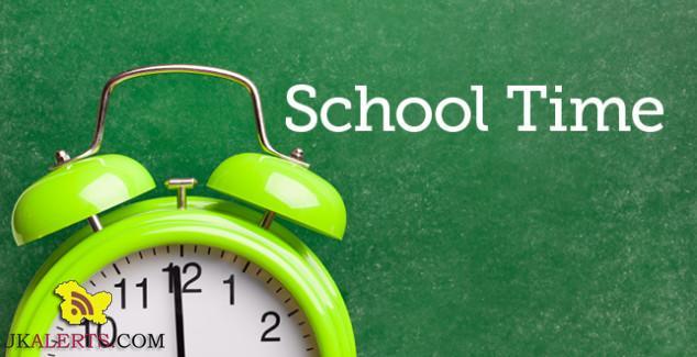School timinig Change in Kashmir School timinig Change in Kashmir School timinig Change in Kashmir