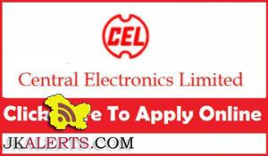 Central Electronics Limited Recruitment 2017
