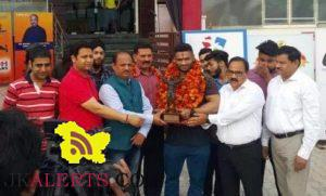Pushpinder brought laureals to the State by winning gold medal at Federation Cup 2017