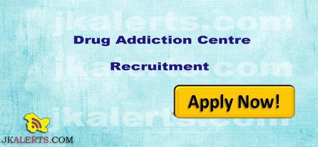 Jobs in Drug Addiction Centre Baramulla