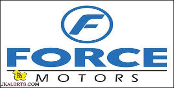 Jobs in Force Motors Dealership Jamie Power Pvt. Ltd.