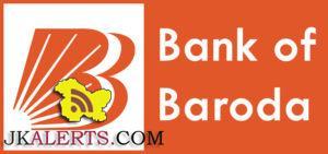 Bank of Baroda Jobs Recruitment 2018