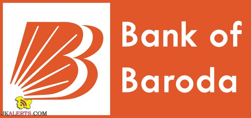 Bank of Baroda Jobs Recruitment 2018