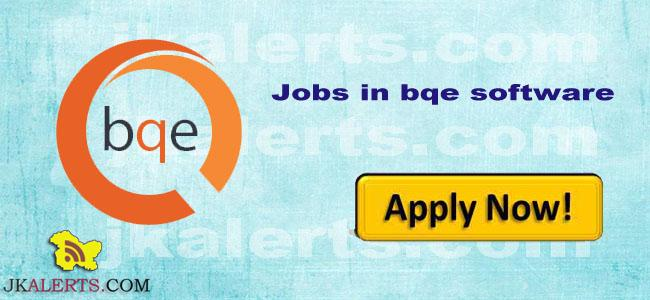 BQE Software Recruitment 2018