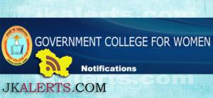 Govt. College for Women Parade, Govt. College for Women Jobs, Govt. College for Women Recruitment 2019, Govt. College for Women Govt jobs, Govt. College for Women Academic Arrangement, Govt. College for Women Jobs updates, Govt. College for Women Notifiction,GCW Parade, ,GCW Parade Jobs, ,GCW Parade Recruitment , Govt Jobs, Jammu Jobs, Jammu Recruitment, Teaching Jobs,Lecturers Jobs, Teaching AssistantJobs.