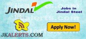 jobs in jindal steels