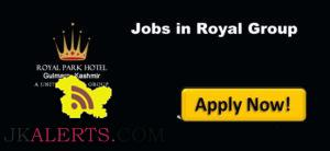 Jobs in Hotel Royal Park Gulmarg