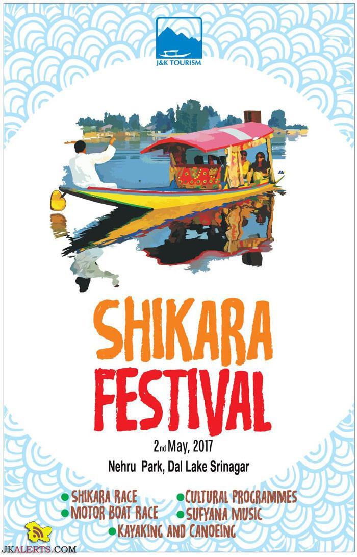 J&K Tourism Shikara Festival 2017