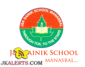 J&K Sainik School Manasbal Viva voce of candidates for admission to class 6th & 9th