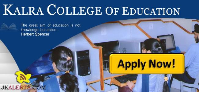 Kalra College Of Education, Private jobs, Udhampur Jobs, Udhampur Recruitment, Lecturer Jobs, Librarian Jobs, Private Jobs updates
